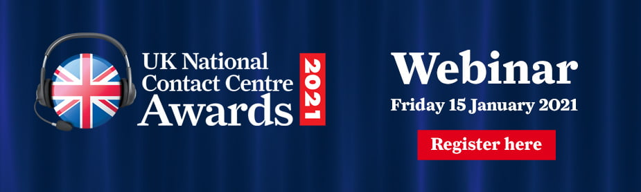 UK National Contact Centre Awards 2021 Webinar