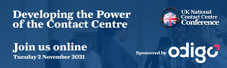 2021 UK National Contact Centre Conference